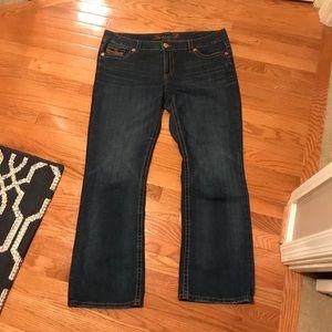 SEVEN7 Bootcut Jeans (20W)